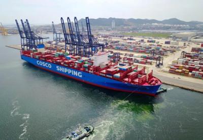 上海港船供应物资报关了就可以拿上船吗