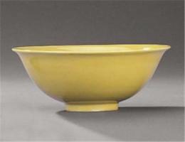明万历黄釉盘去哪里容易交易拍卖