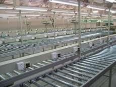 自動化設備與包裝機械生產 水平輸送滾筒線