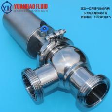 衛生級截止外螺紋換向閥一位兩通氣動換向閥