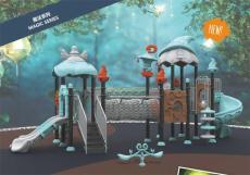 小博士大型滑梯幼儿园塑料玩具儿童滑滑梯