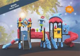 大型滑梯儿童室外滑梯玩具游乐设备小博士