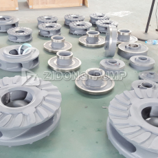 生产厂家专用提供渣浆泵配件 叶轮 过流部件