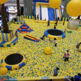 百万海洋球池嘉年华游乐场设备儿童充气玩具