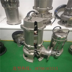 全铸造潜水排污泵-不锈钢耐高温排污泵