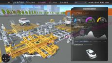 智能工厂三维可视化管理系统 数字工厂