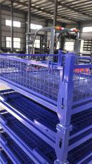 襄阳折叠金属周转箱 堆垛式金属周转箱 物料