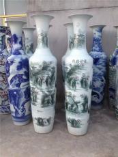 供应手绘青花大花瓶 景德镇花瓶 陶瓷厂家直
