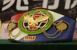 北京国际拳王金腰带WBC WBA金腰带制造