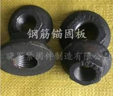 钢筋锚固板带垫螺母