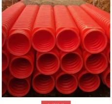 广西南宁雄塑HDPE钢带增强螺旋波纹管钢带管