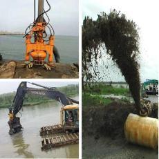 超高效挖机吸泥泵 搅拌式渣浆泵 液压泥浆泵