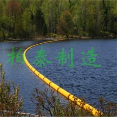 江面攔截漂浮物圍欄設備材料攔垃圾浮筒廠家