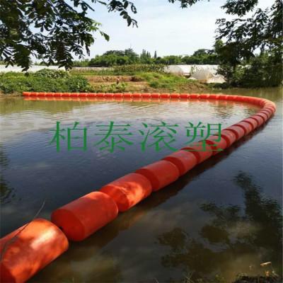 河道清渣浮筒设备围油栏浮筒厂家