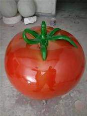 供應園林仿真西紅柿玻璃鋼蔬菜雕塑擺件
