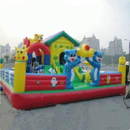 充气儿童乐园城堡室内大型滑梯蹦蹦床修补包