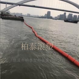 河道浮萍拦截聚乙烯浮筒拦垃圾介绍