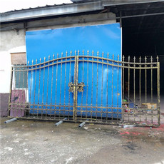 廣西工廠鐵藝大門  南寧小區庭院大門定制