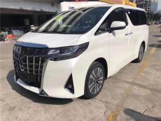 广州7座MPV丰田埃尔法带司机租车价格表广州