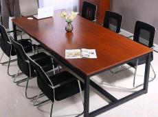 合肥家具厂定制会议桌 钢架会议桌 电脑桌椅