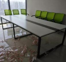 全新会议桌椅钢架会议桌椅电脑桌椅全套定制