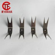 喷塑吊具夹子加工 电镀加工表面处理 喷漆夹