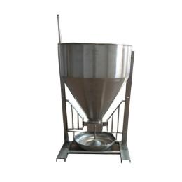 新款不锈钢干湿喂料器育肥保育不锈钢料槽