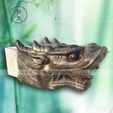 石雕龍頭青石的龍頭雕刻品工藝品