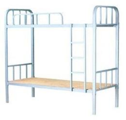 铁架床 上下铺床 工地床 双层铁床 宿舍床