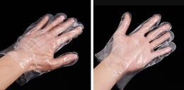 全新料聚乙烯一次性塑料手套批发价格