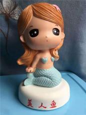 泰安市儿童彩绘石膏娃娃 石膏像白胚模具厂