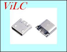 MICRO夹板式5P母座B型-带凸包安卓V8接口