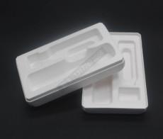 河南濟源紙漿包裝盒自拍桿紙托白色定制