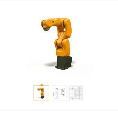 伏羲604型下料 分拣 装配智能机器人