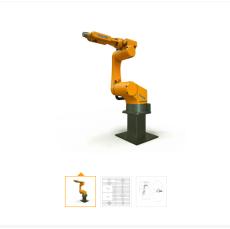 伏羲608H 6轴焊接专用智能机器人
