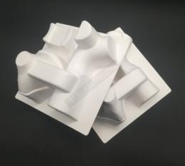 河北河间纸浆托盘医用雾化器纸托定做白浆
