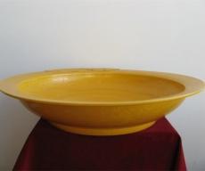 明弘治娇黄釉盘拍卖交易行情