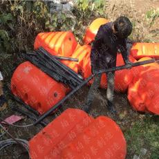 水域漂浮物一体式圆柱形拦污排价格