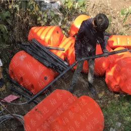 水库拦漂浮筒河道拦垃圾设备