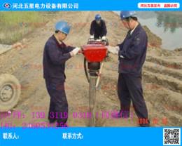 市政采购防汛打桩机的型号 气动打桩机桩径