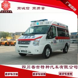 全顺救护车销售 西藏救护车厂家现车提供