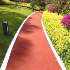 红河彩色沥青慢跑道为城镇农村添色彩