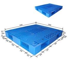 批發雙面網格塑料托盤 倉庫碼垛專用托盤機