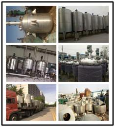 常年回收不锈钢反应釜-求购沈阳二手搅拌罐