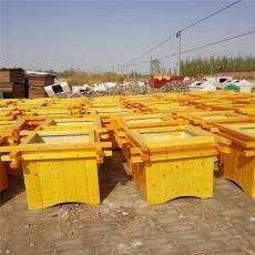 河北防腐木花箱厂家户外绿化种植木质花盆