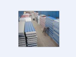 供青海海西彩钢板和海东彩钢夹芯板价格