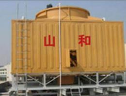供陕西神木圆型冷却塔和靖边方型冷却塔