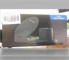 新款三合一快速無線充電器