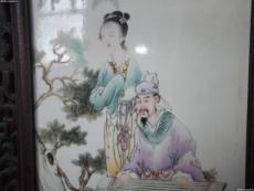 王大凡瓷板画以往收购纪录