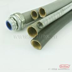 包塑防水可挠金属管接头 普利卡管接头WBG